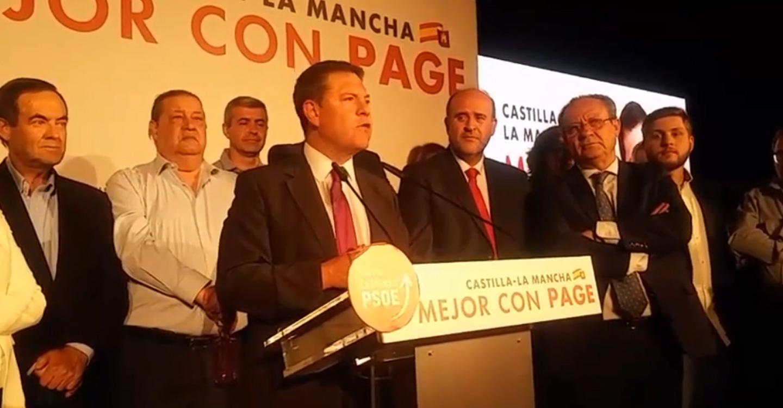 """García-Page: """"esta mayoría debe traducirse en un gran acuerdo social donde todo el mundo se sienta representado"""""""
