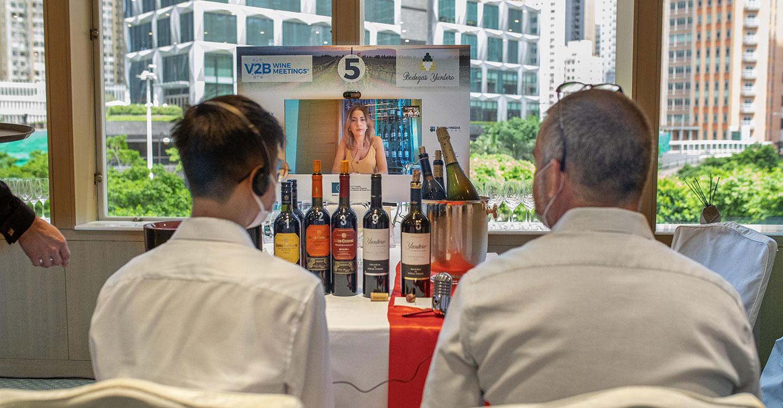 El Gobierno de Castilla-La Mancha realiza el primer encuentro comercial B2B virtual en Hong Kong con ocho bodegas de la región