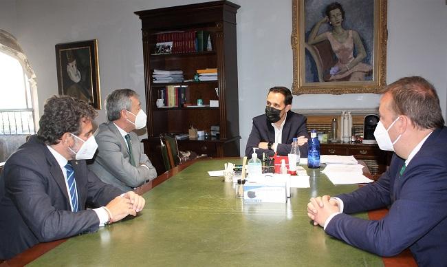 Eurocaja Rural comparte con la Diputación de Valladolid su proyecto de negocio y su implicación con la provincia