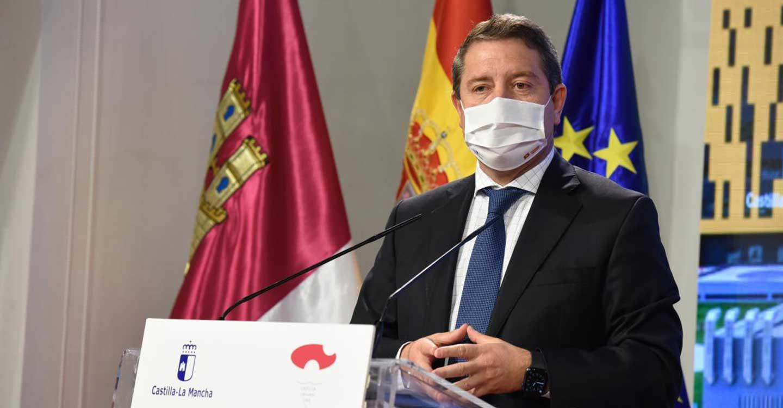 """Emiliano García-Page reclama una """"medida homologable"""" entre el Gobierno nacional y las Comunidades Autónomas para abordar el avance de la COVID-19"""