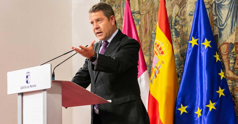 """El presidente de Castilla-La Mancha reivindica un consenso de Estado que """"permita una plataforma conjunta de reacción frente el virus"""""""
