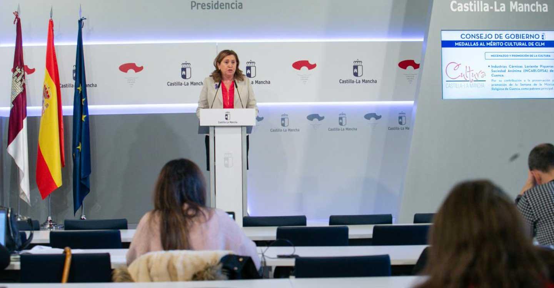 El Gobierno regional entregará las medallas al Mérito Cultural de Castilla-La Mancha el próximo 27 de marzo en Pastrana (Guadalajara)