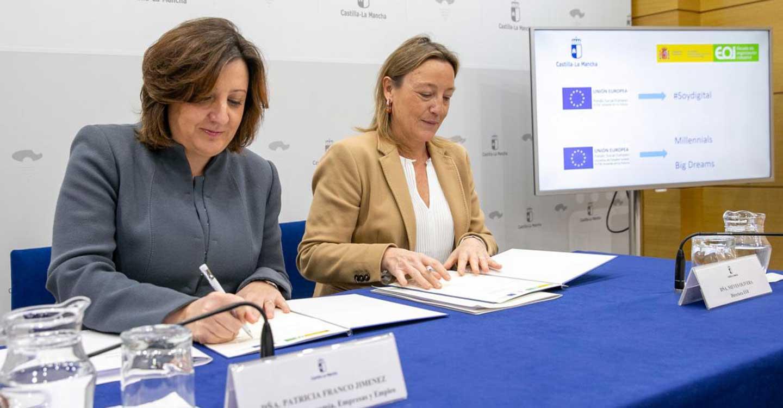 El Gobierno regional y la EOI desarrollarán acciones formativas en materia de digitalización y empleo juvenil dirigidas a un millar de personas