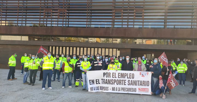 La huelga del Transporte Sanitario de CLM entra en una nueva fase y será indefinida a partir del 2 de noviembre