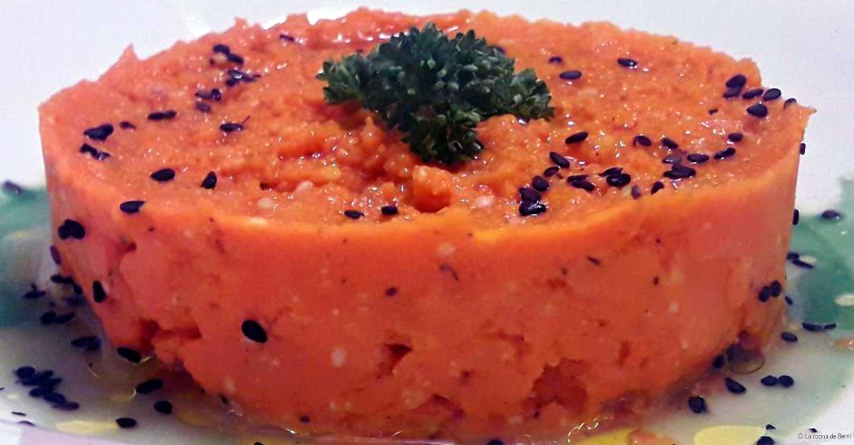 Hummus de calabaza asada con tahini