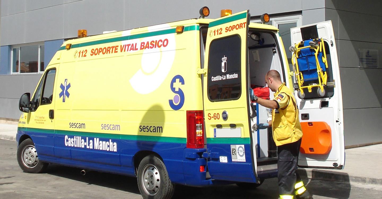 IU aboga por gestionar de forma pública el servicio de ambulancias de Castilla-La Mancha