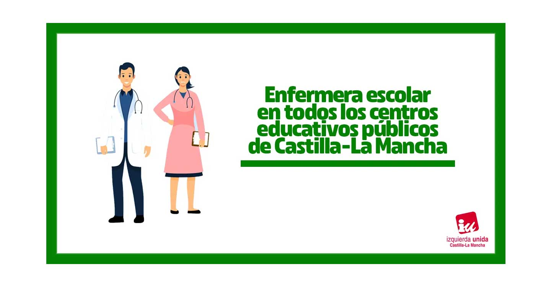IU C-LM aplaude la contratación de personal de enfermería para los centros educativos