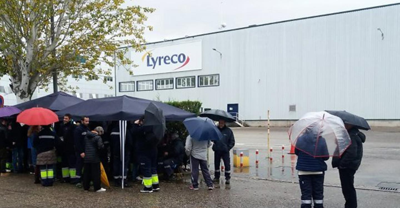 IU muestra su apoyo a los trabajadores de Lyreco que hoy comienzan una huelga indefinida
