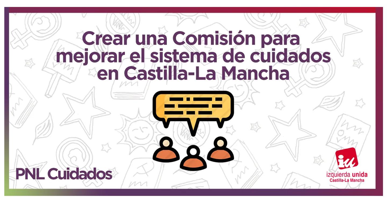IU CLM plantea crear una Comisión para mejorar el sistema de cuidados en Castilla-La Mancha
