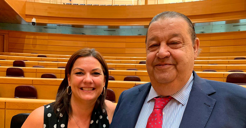 Jesús Fernández Vaquero y Mayte Fernández adquieren su condición plena de senadores y representarán en la Cámara Alta a la Comunidad de Castilla-La Mancha