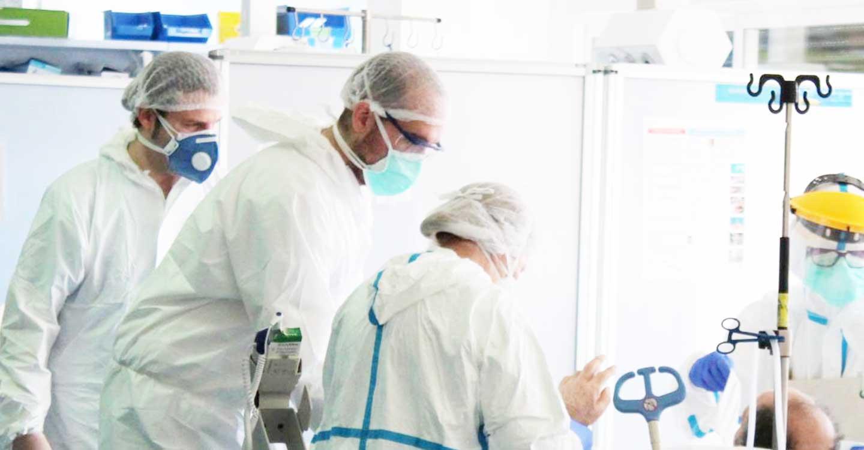 Se mantiene el número de hospitalizados en Castilla-La Mancha, tanto en UCI como en cama convencional, en las últimas 24 horas