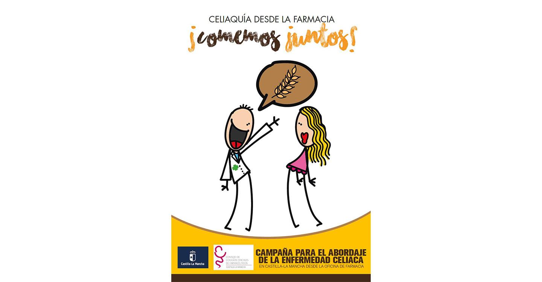 Más de 230 farmacéuticos de Castilla-La Mancha imparten educación sanitaria para el abordaje de la celiaquía