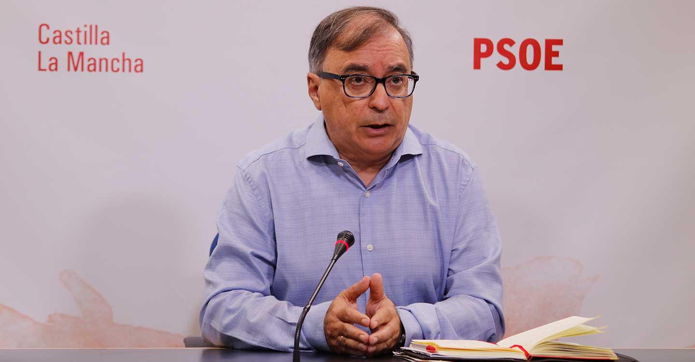 """Mora lamenta que el PP está """"a destiempo"""" y recuerda que la comisión de estudio está acordada para septiembre en el pacto por CLM"""