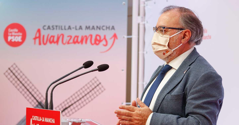 """Mora ve """"incomprensible"""" que Núñez no apoye la decisión de confinar CLM para luchar contra el virus"""