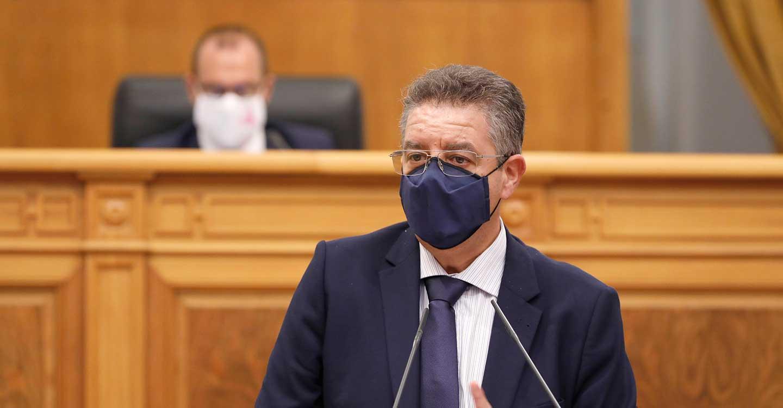 """Moreno acusa al Gobierno de Page de actuar """"a salto de mata"""" ante su improvisación y falta de coordinación para `frenar´ los efectos de la pandemia"""