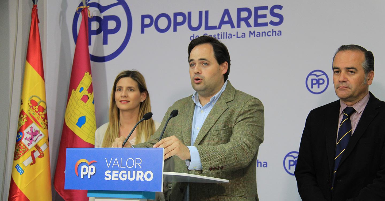 Núñez asegura que hoy ha quedado patente que la división del voto del centroderecha ha provocado que Pedro Sánchez vaya a ser presidente del Gobierno
