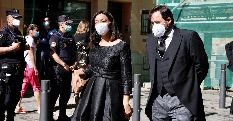 Núñez asiste a la celebración del Corpus Christi en Toledo con el recuerdo a los más de 3.000 fallecidos por la pandemia en CLM