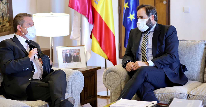 Núñez plantea a Page que Castilla-La Mancha lidere una Ley nacional para combatir la ocupación ilegal de viviendas