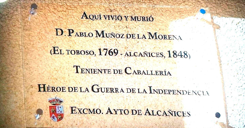 """Personajes manchegos: """"Pablo Muñoz de la Morena"""""""
