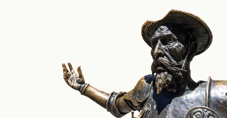 Personajes de El Quijote representativos en las distintas calles de algunos municipios de Castilla-La Mancha (1)