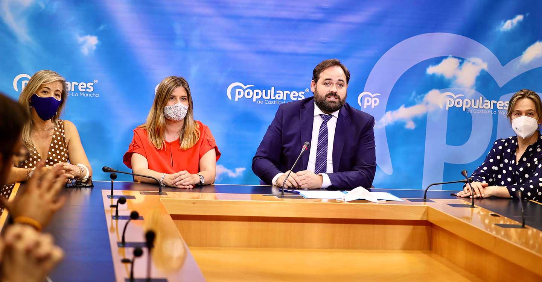 """Núñez avanza que el PP-CLM llevará el jueves al pleno de las Cortes la aprobación y convocatoria de la Comisión de Estudio sobre el COVID-19 y espera """"que no haya mayor problema"""" para su puesta en marcha"""
