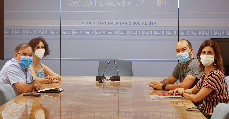 El PSOE de CLM muestra su apoyo a los trabajadores y las trabajadoras de La Tribuna