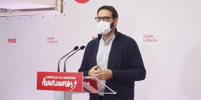"""Gutiérrez: """"Los presupuestos de Page son una enmienda a la totalidad a la manera de afrontar las crisis de Cospedal y el PP"""""""
