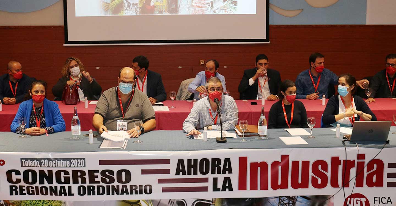 El 6º Congreso Regional de UGT-FICA CLM elige a Raúl Alguacil como nuevo secretario general
