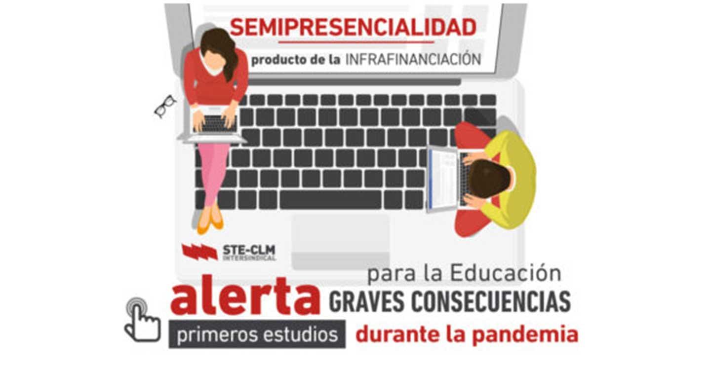 STE-CLM denuncia la falta de financiación de la educación y las graves consecuencias que tendrá durante la pandemia