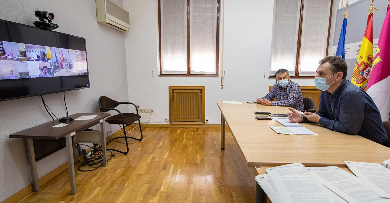 Tierraseca traslada a los subdelegados en Castilla-La Mancha las principales novedades para municipios menores de 10.000 habitantes