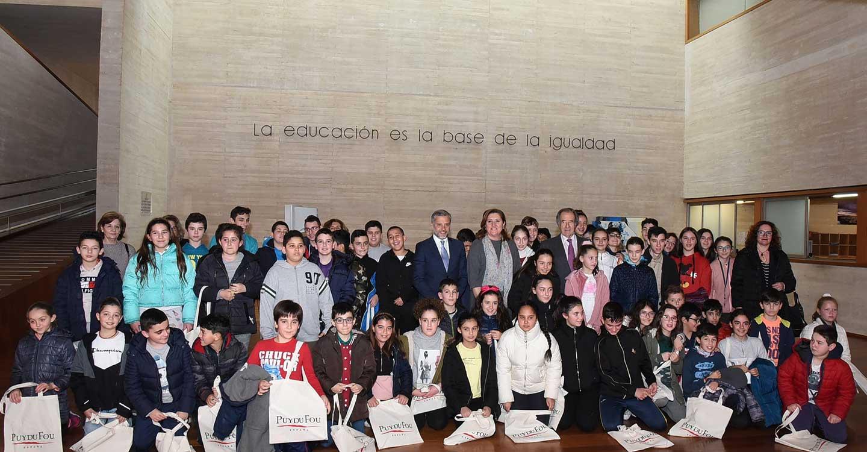 El Gobierno regional y Puy du Fou ponen en marcha la segunda edición del concurso para escolares 'Cuéntanos tu sueño de Toledo'