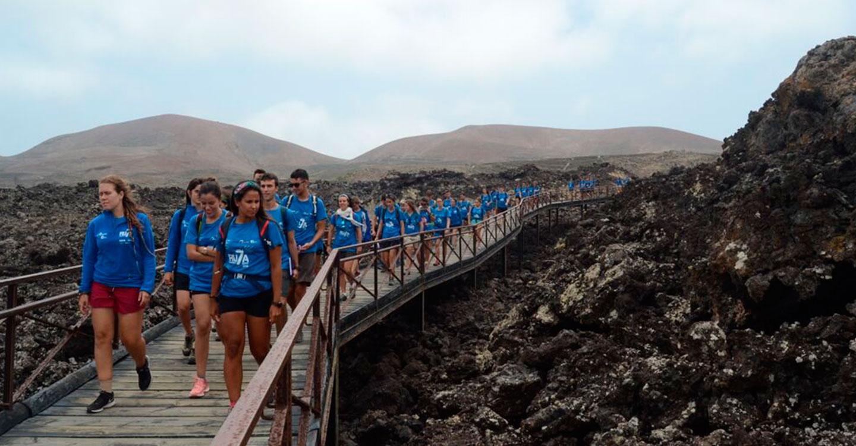 Tres jóvenes castellano-manchegos, entre los 45 universitarios que recorrerán Canarias con BBVA y el proyecto Ruta Siete