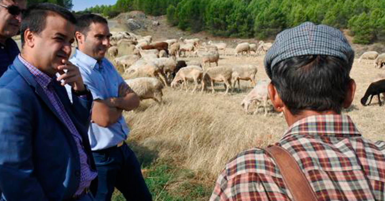 Un total de 3.500 agricultores y ganaderos en zonas de montaña y limitaciones naturales reciben hoy más de 5,4 millones de euros en ayudas
