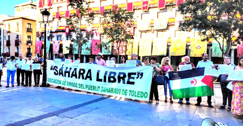 Una concentración en Toledo para reclamar por el Día Mundial de las Personas Refugiadas
