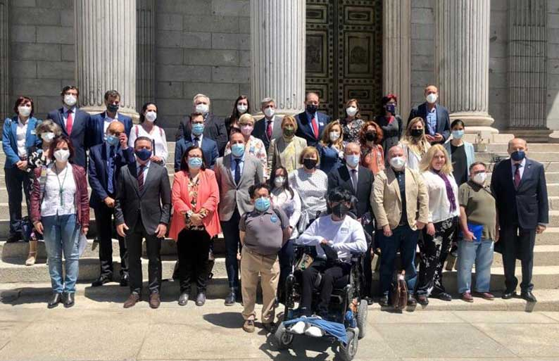Cambiar la ley para cambiar la vida de las personas con discapacidadUn nuevo hito en la Historia de la Democracia Española