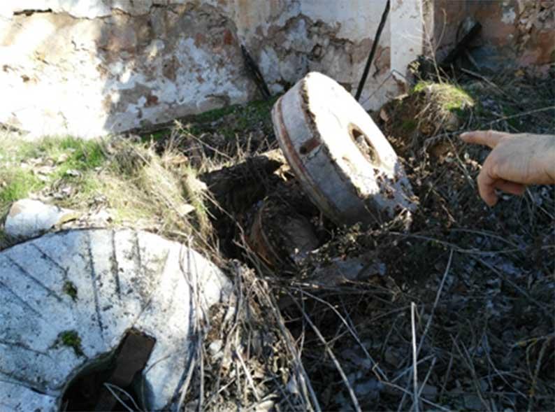 Localizan restos... y el despreciado patrimonio arqueológico, histórico... del Alto Guadiana