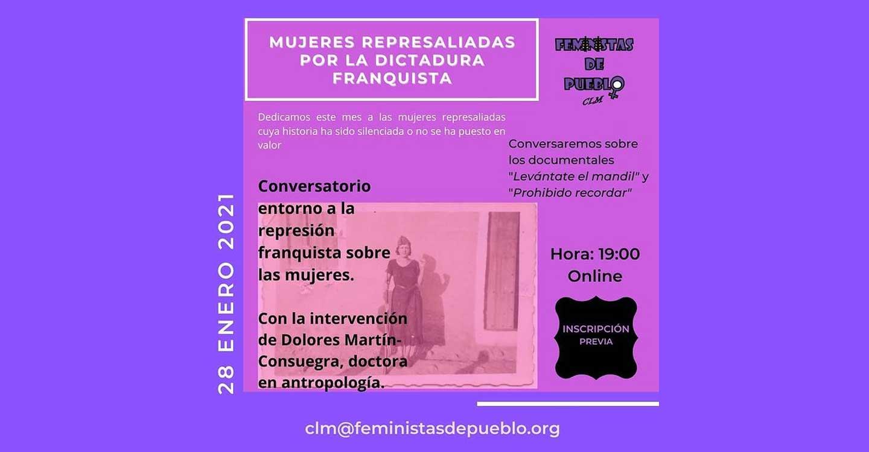 Memorias sobre la feminización de la represión franquista en Castilla-La Mancha