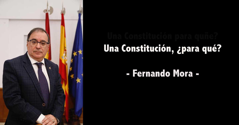 Una Constitución, ¿para qué?
